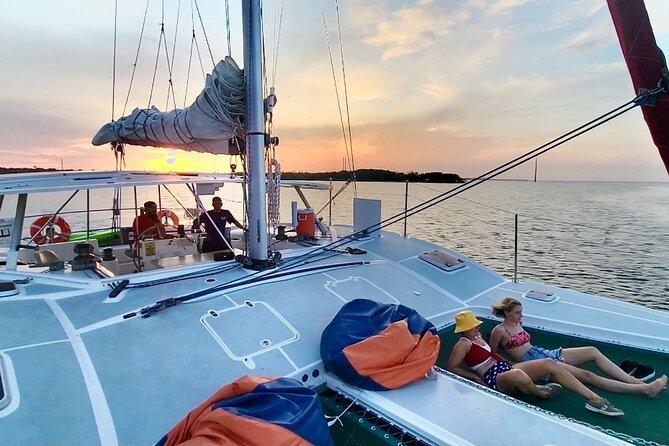 Sunset Catamaran Sail in Merritt Island