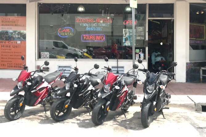 Hybrid Ninja Scooter Rental in Miami beach for 2Hrs + 1Hr Free