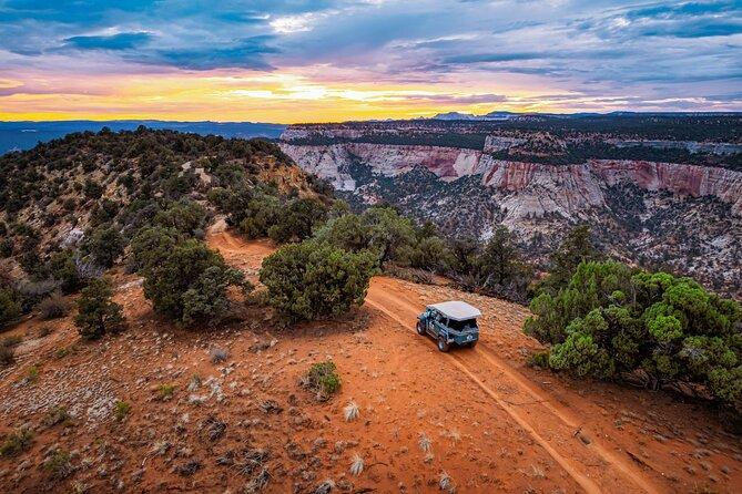 East Zion: Zion Cliffs Sunset Jeep Tour