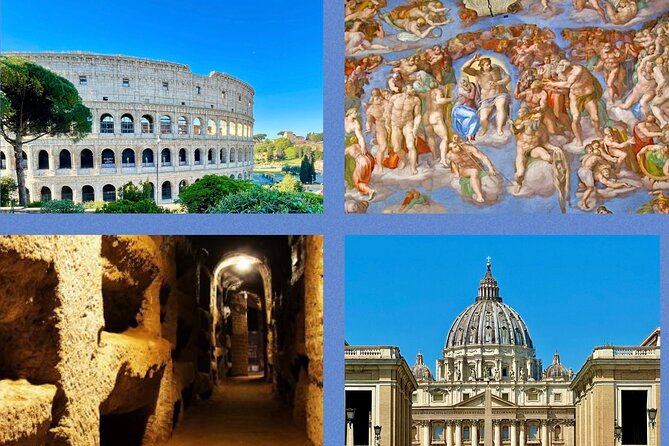 BEST OF ROME IN 2 DAYS. Colosseum, Vatican Museum, Catacombs, Rome   Fast Track