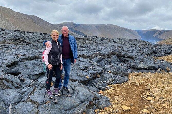 Volcano Lava Fields, Hot Springs and Sky Lagoon