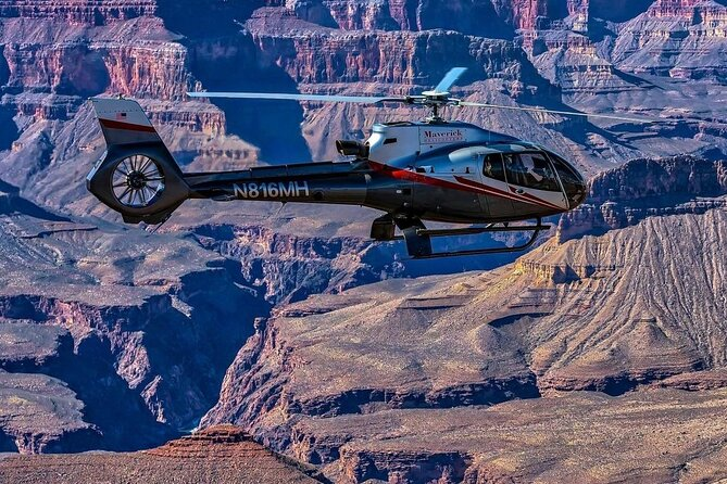 Full-Day Shooting Range and Grand Canyon Helicopter Flight