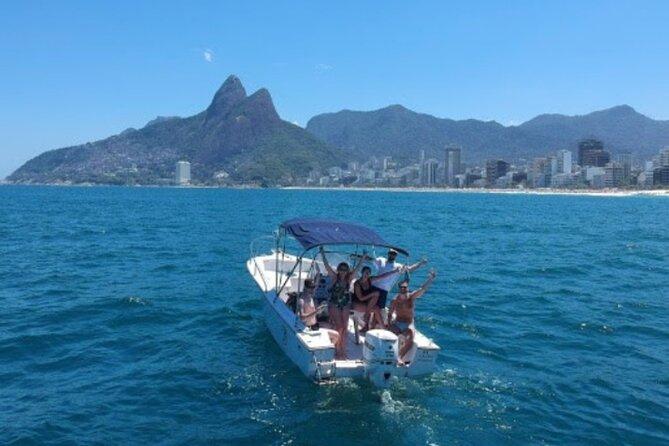 Small-Group Speedboat Tour in Rio de Janeiro