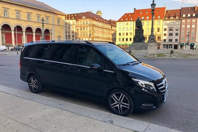 Private Chauffeur Driven Munich City Day Tour in Mercedes V-Class up to 6pax