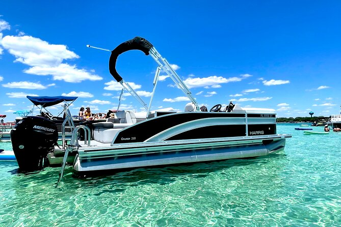 Private Chartered Luxury Pontoon Boat-Up to 6 Guests in Destin