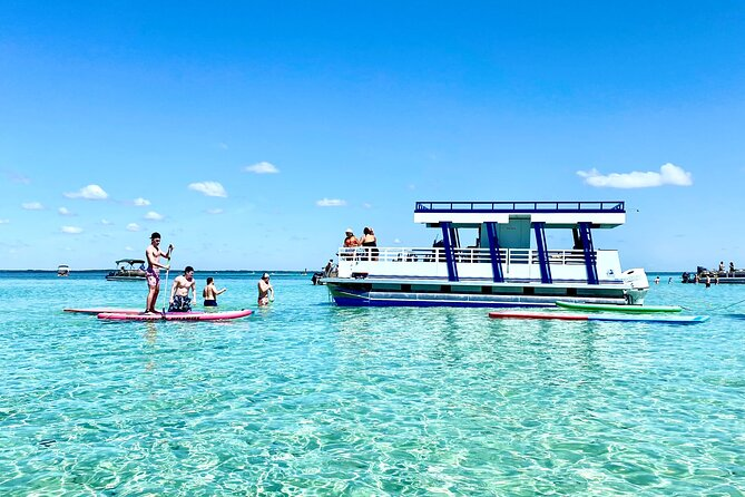 Private Chartered Pontoon Boat-Up to 16 Guests Island Time