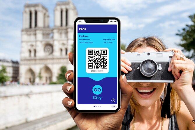 Go City   Paris Explorer Pass - Choose 2, 3, 5 or 7 Attractions