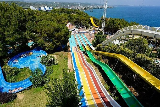 Water Planet Aquapark Including Lunch with Transfer from Alanya