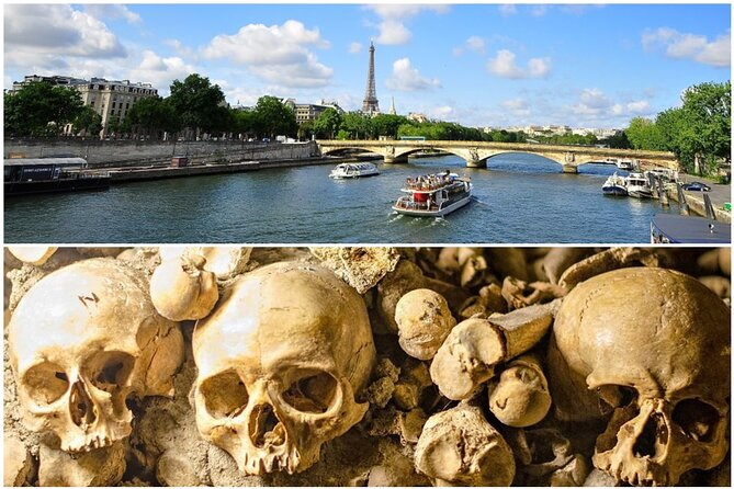 Paris Catacombs & Seine River Cruise Experience With Multiple Options