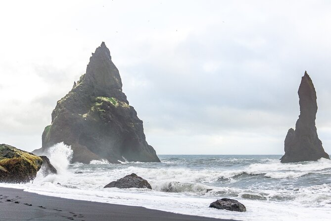 Small Group South Coast, Glacier Lagoon and Diamond Beach Adventure from Reykjavik