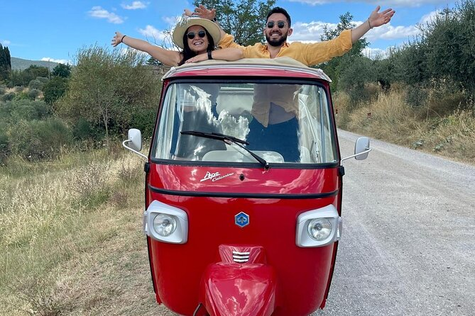 Private Tuk Tuk Experience in Tuscany for 2 from Florence