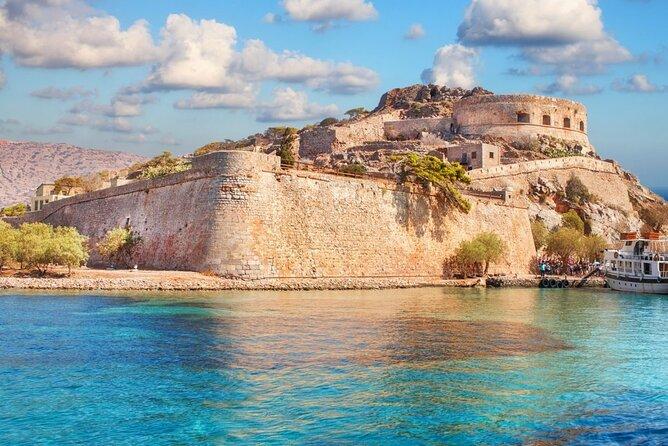 Spinalonga & Agios Nikolaos from Heraklion region