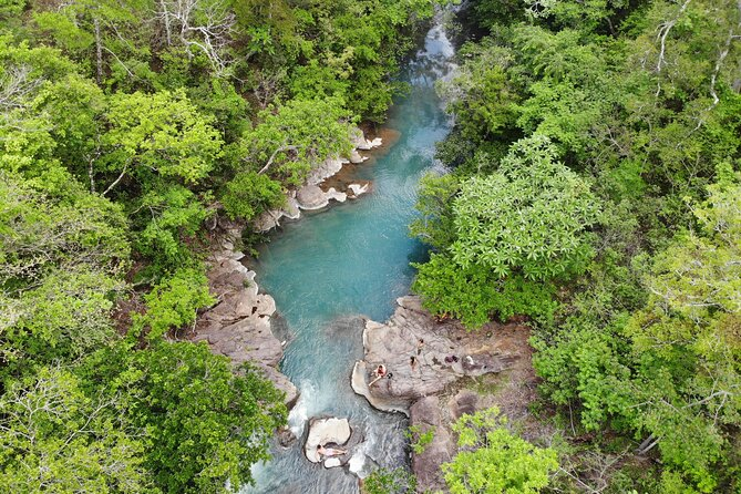 Private Tour to Waterfall Blue River in Guanacaste