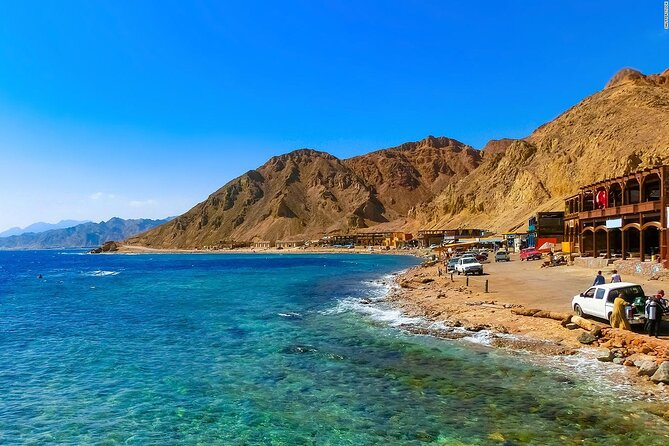 Private Full Day Snorkeling, Camel Ride With Lunch In Dahab From Sharm El Sheikh