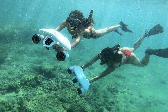 Jet Snorkel-Snorkeling with Turtles!