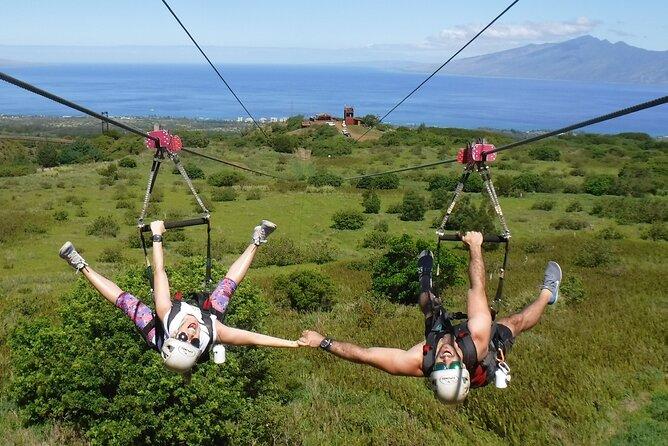 6 Dual-Zipline Mountain Adventure in Maui