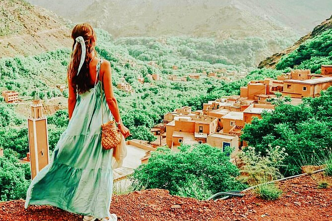 Atlas Mountains and Three Valleys Day Trip Including Camel ride & Lunch