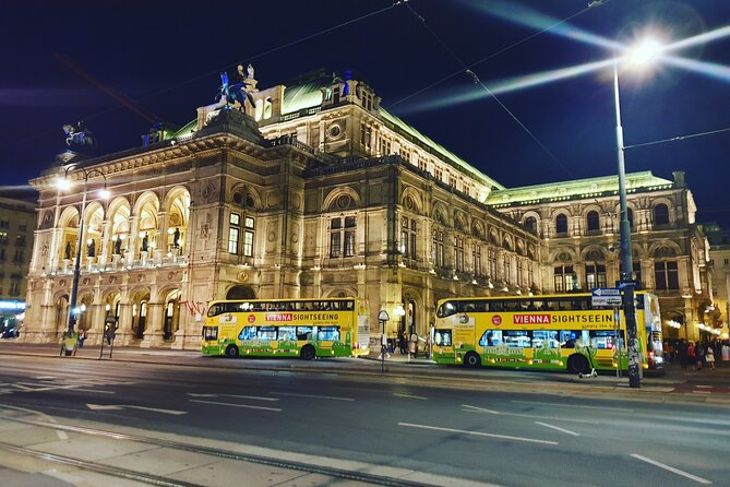 Vienna By Night: 1-Hour Sightseeing Tour