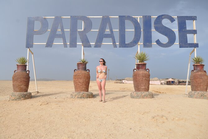 Paradise Island Snorkeling Sea Trip With Water Sports and Lunch - Hurghada