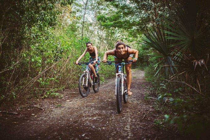 Jungle Bike Adventure Private Tour from Tulum