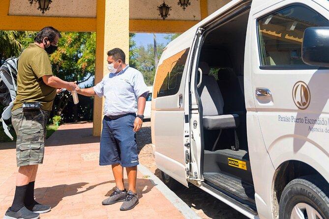 Transportación del Aeropuerto Puerto Escondido al hotel