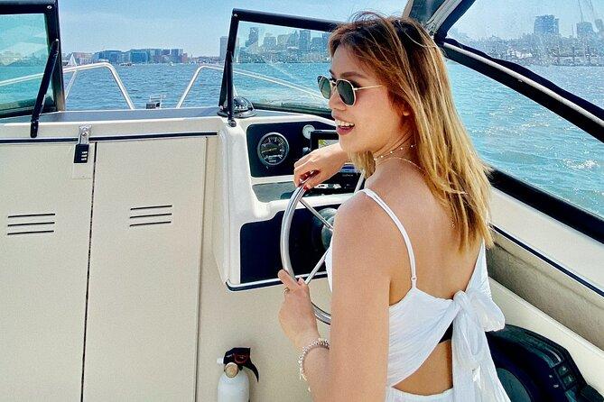 Private Boston Harbor Boat Tour