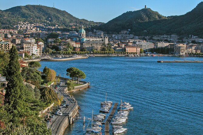 Full-day Lugano and Bellagio Scenic Tour from Como