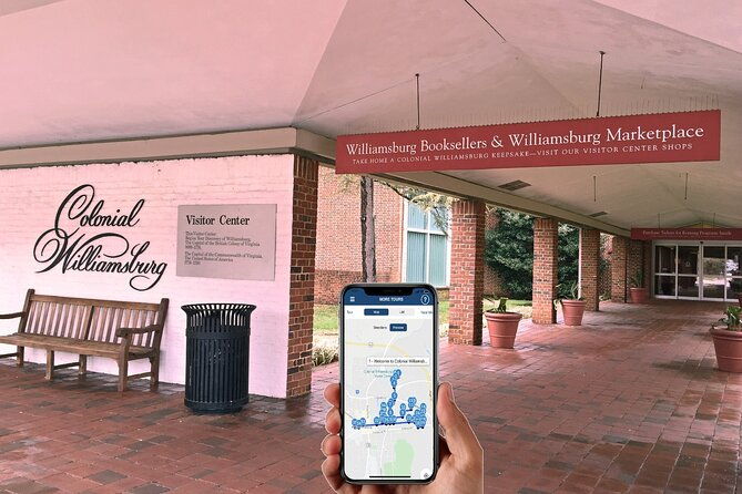 Colonial Williamsburg Self-Guided Walking Tour