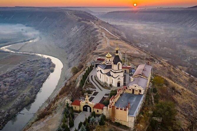 Best of Moldova: Cricova Winery & Old Orhei Tour including Curchi Monastery