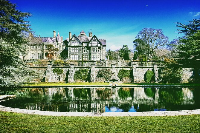 """New"" Bodnant Gardens, Snowdonia & Castles Private Tour"