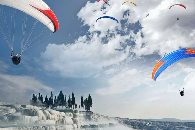 Daily Pamukkale Tour included Paragliding Flight
