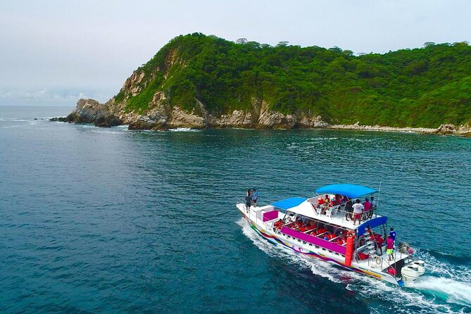 Full Day Tour of the Bays of Huatulco