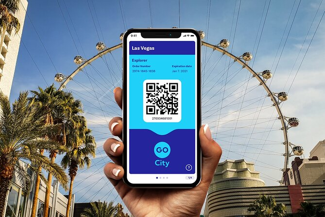 Go City: Las Vegas Explorer Pass - Choose 2, 3, 4, 5, 6 or 7 Attractions