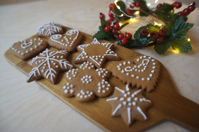 Christmas Gingerbread Cookies Baking and Decorating Workshop