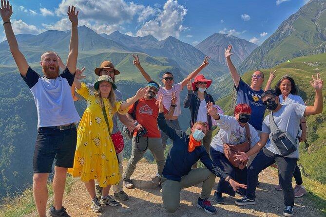 Crazy Group Tour To Kazbegi