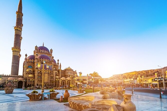 Half Day Tour In Sharm El Sheikh with Al Sahaba Mosque & SOHO Square