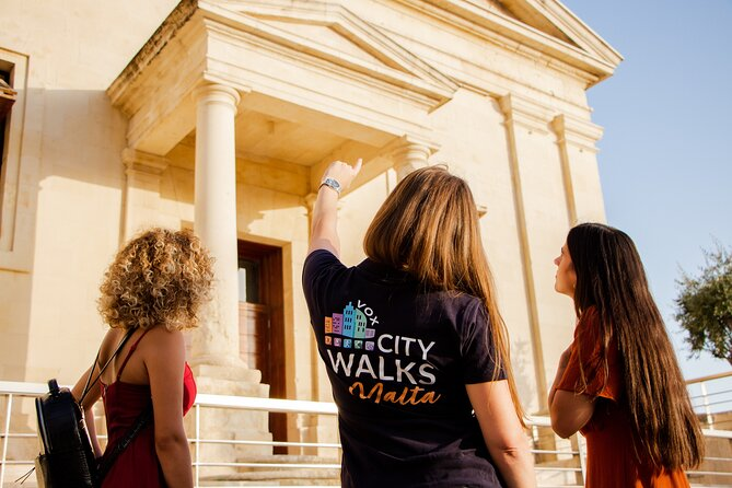 Malta Walking Tour Pass for 2 Guided and 3 Self-Guided Routes