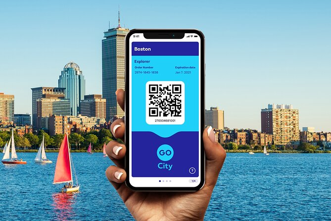 Go City: Boston Explorer Pass - Choose 2, 3, 4 or 5 Attractions