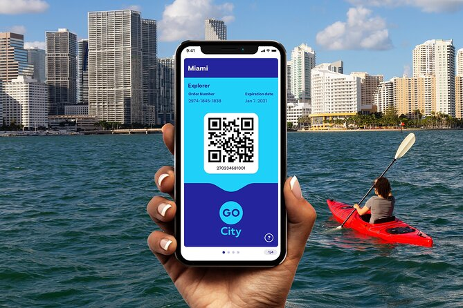Go City: Miami Explorer Pass - Choose 2, 3, 4 or 5 Attractions