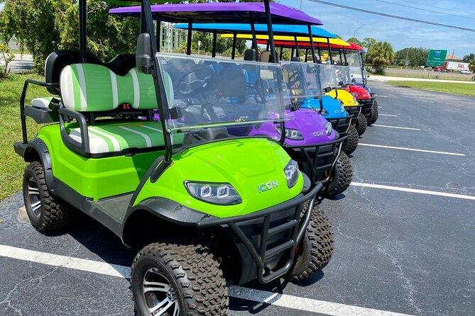 Street Legal Custom Golf Cart Rentals in Tampa