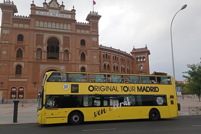 Madrid Panoramic Tour by Double-Decker bus