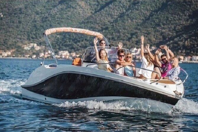 Kotor Bay speedboat tour - private bay tour