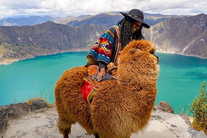 Quilotoa Full Day Tour from Quito with entrances, small groups