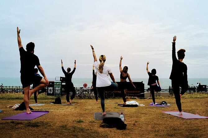 Outdoor Yoga Class at Hove Lawns Beach and Brunswick Square