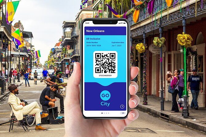 Go City: New Orleans All-Inclusive Pass with 25+ Attractions
