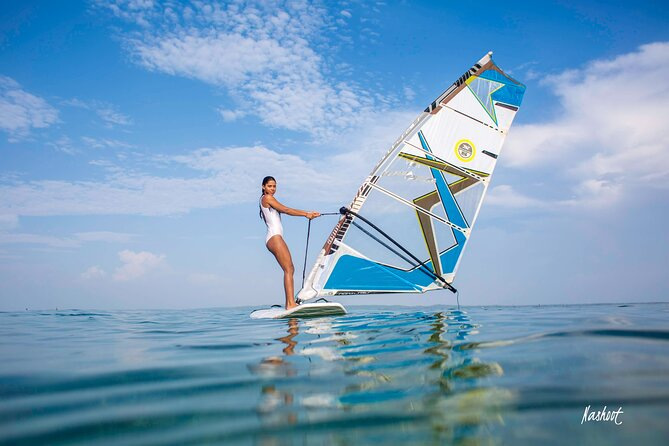Lección de windsurf