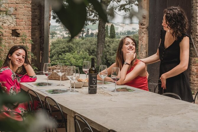 Montalcino Brunello Wine Tasting Experience with lunch