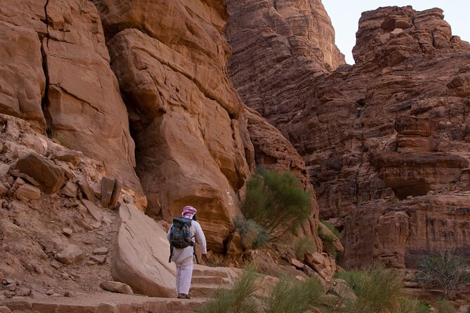 Guided Hiking Tour in Wadi Rum - Day Trip