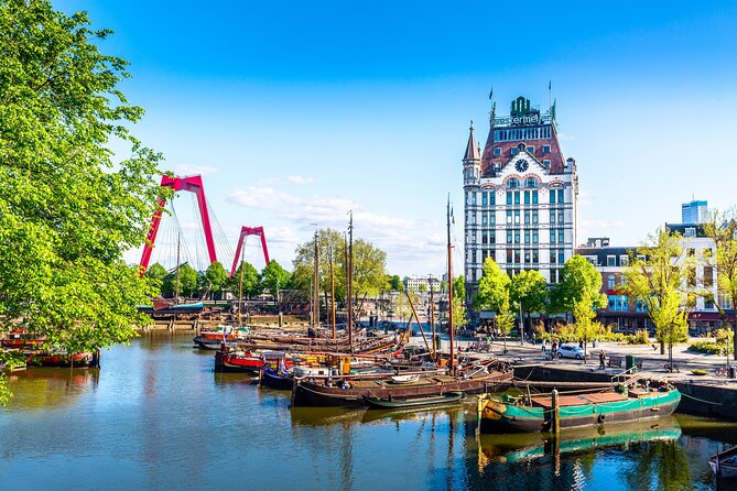 Rotterdam Spy Private Tour: Old Town & Harbor Exploration Game