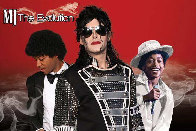 Admission Ticket to MJ The Evolution Show in Las Vegas
